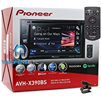 Pioneer AVH-X390BS In-Dash 2-DIN 6.2 Touchscreen DVD Bluetooth Sirius XM Ready Stereo