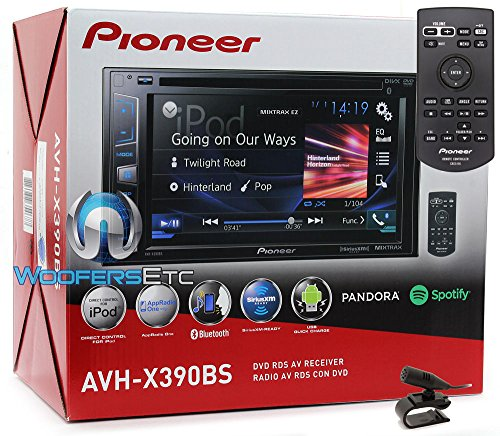 Top pioneer double din car stereo bluetooth for 2019