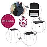 Tabletote Black Portable Compact Lightweight