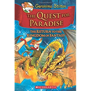 Geronimo Stilton – The Quest for Paradise Hardcover – 1 Oct 2010