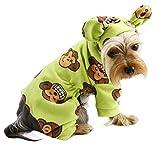 Klippo Silly Monkey Fleece Hooded Pajamas