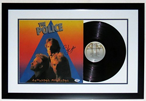 Stewart Copeland Autographed The Police Zenyatta Mondatta Album - PSA DNA COA Authenticated - Professionally...