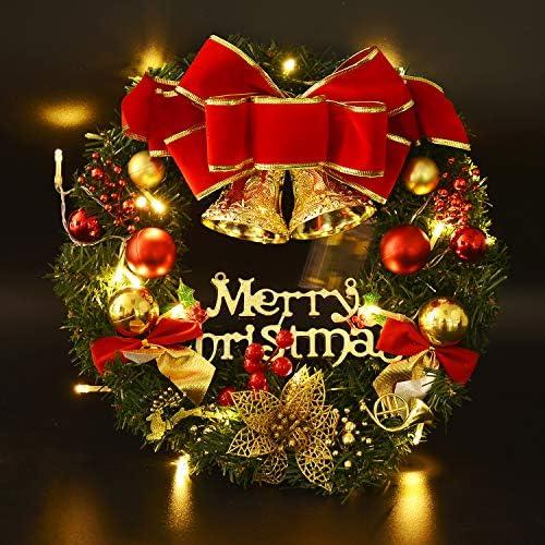 Coxeer Guirnaldas de Decoración de Navidad con Velas Bola Colgante de Guirnalda de Navidad para el Hogar: Amazon.es: Hogar