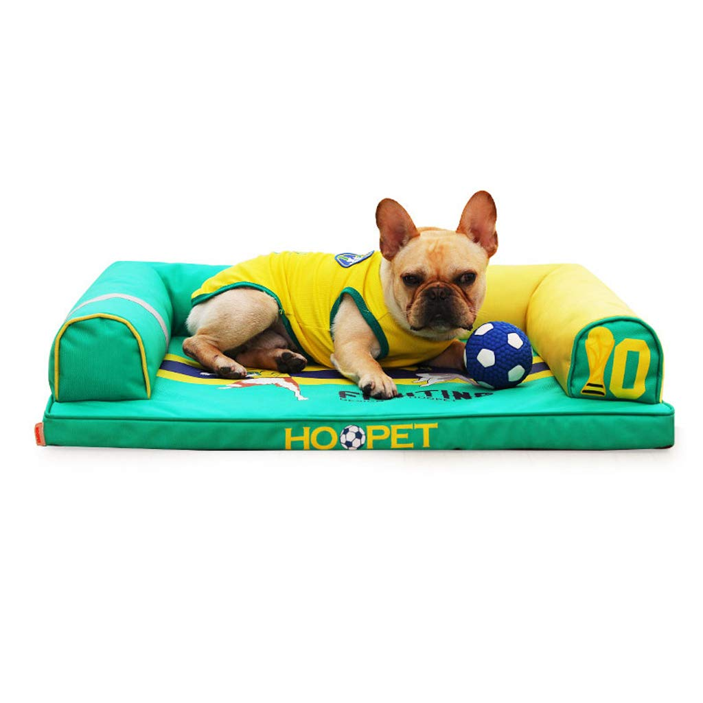 D L D L Pet Bed Dog Cat Bed Four Seasons Soft Warm Removable Washable Scratch Proof for Small and Medium Pet (color   D, Size   L)