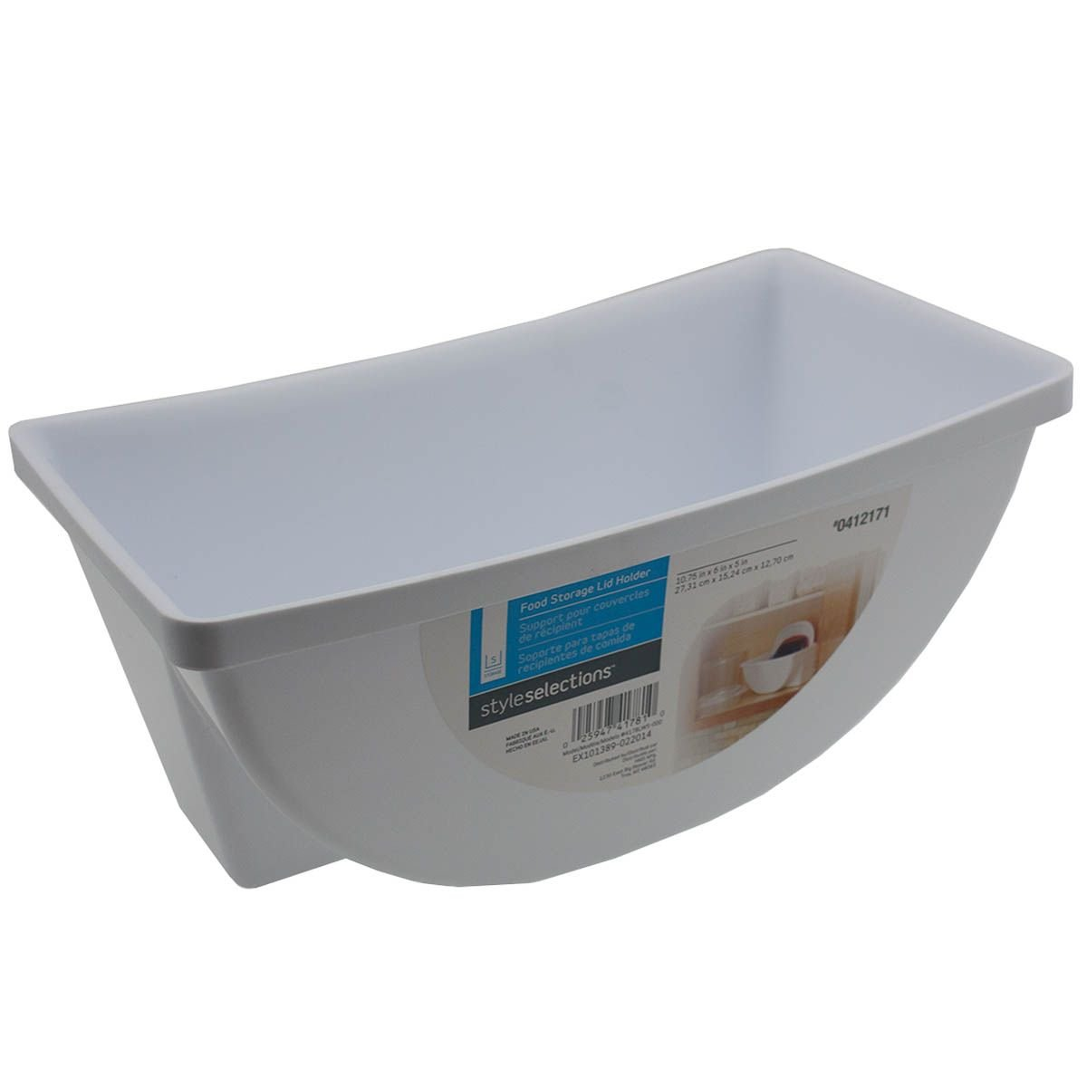 Amazon.com - Style Selections Food Storage Container Lid Holder ...