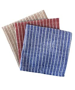 Sustainable Threads 302-06-CH Aura Handkerchief Set of 3