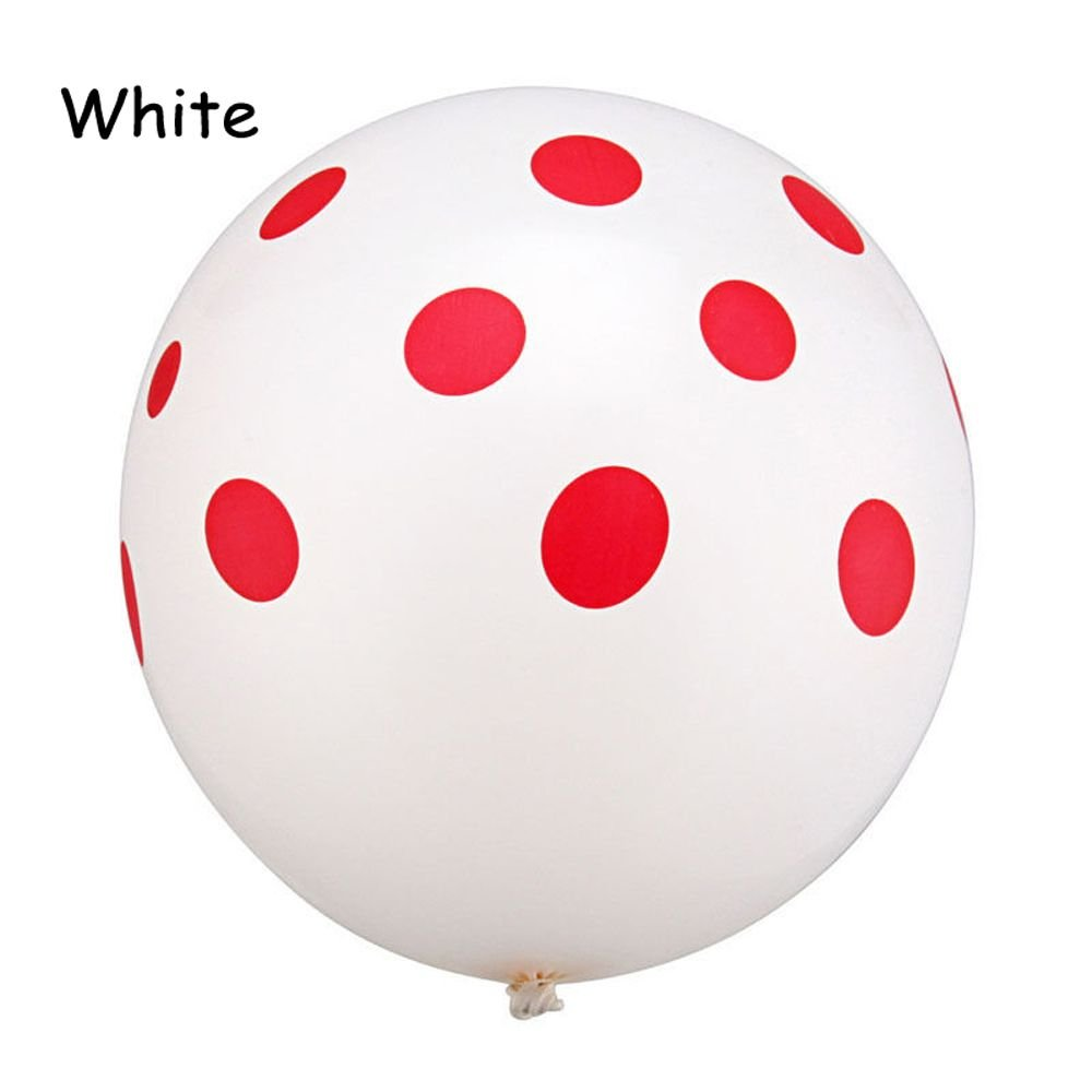 "12/"" Latex Polka Dot Balloon Wedding Party Birthday Decorating 10 20 50 pcs New"