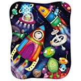 Space Aliens, Glow In The Dark, Children's Puzzle by Milly & Flynn
