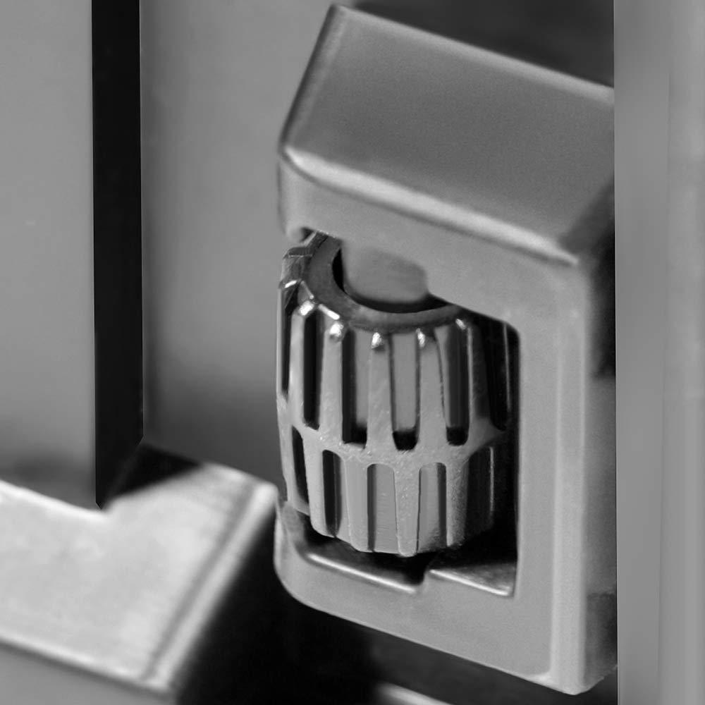 System Truhe Gartenbox Kissenbox Anthrazit Rollen Griffe 100 kg belastbar Smart Click Deuba Auflagenbox Board Plus