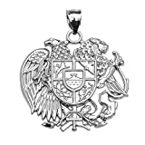 Armenian National Coat Of Arms Eagle and