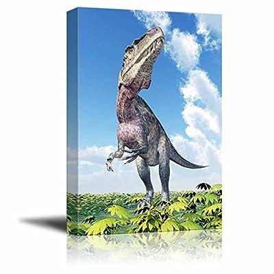 Professional Creation, Charming Handicraft, Dinosaur Acrocanthosaurus for a Boys Bedroom Wall Decor