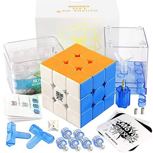 D-FantiX Moyu Weilong WR M Magnetic 3x3 Speed Cube Stickerless Weilong WRM 3x3x3 Puzzle Cube