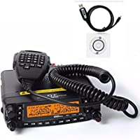 1704A Newest Updated Version TYT TH-9800 plus 50W Quad Band Cross Repeater Car Truck Radio Transceiver with Programming Cable (fit windows OS ONLY)