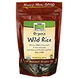 NOW Foods Organic Wild Rice, 8-Ounce
