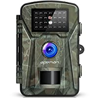 """APEMAN Trail Camera 12MP 1080P 2.4"""" LCD Game&Hunting Camera with 940nm Upgrading IR LEDs Night Vision up to 65ft/20m IP66 Spray Water Protected Design"""