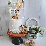 Art Secret Resin Cute Deer Cake Topper