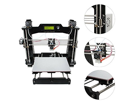 Prusa I3 M201 2-IN-1-OUT FDM 3D Printer DIY Kit 1.75mm ABS PLA 0.4mm Nozzle