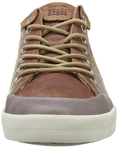 Geox Mens M Smart 74 Fashion Sneaker Marrone Cotto