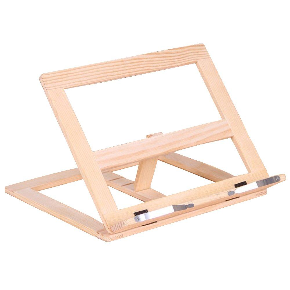 Fancyus in legno regolabile supporto leggio Cookbook lettura scrivania