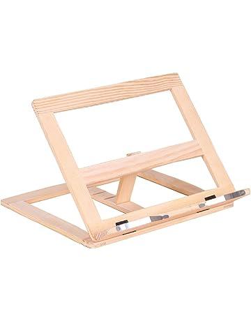 /regolabile tavolo display cavalletto supporto per libri e iPad supporto per libro di cucina multifunzionale pieghevole lettura stand/ gaeruite controsoffitto lettura in legno supporto