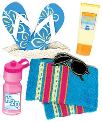 Jolee's Boutique 50-20031 Beach Accessories Dimensional Stickers (Simply Crazy Tool)