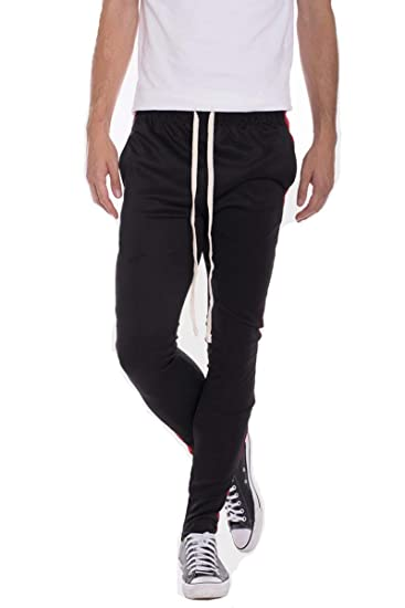 5f996e4d47d44 Weiv Gear Color Block Track Pants at Amazon Men's Clothing store
