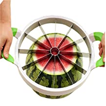 Creative Large Size Fruit Corer Melon Slicer Random Color Handle(14.7*11*1.3'')