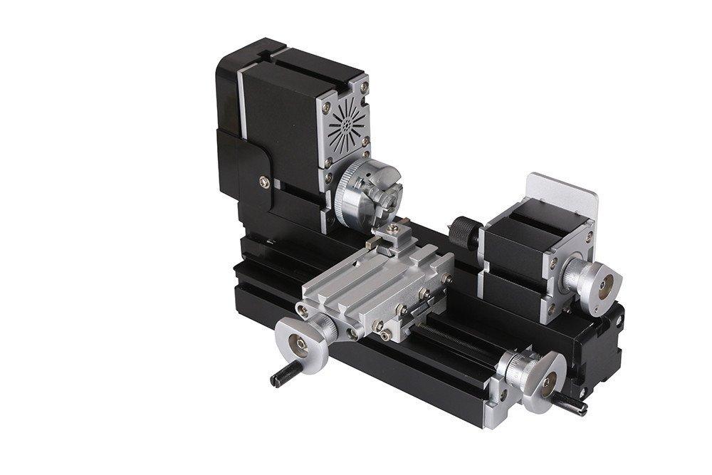 60w 12000rpm De alta potencia de torno de metal en miniatura TZ20002M   Amazon.es  Bricolaje y herramientas 2bd11529762
