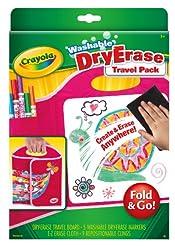 Crayola Washable Dry-Erase Travel Pack, ...
