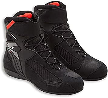 Ducati Corse City Technical Short Motorcycle Boots by TCX Black Euro 42 US 9