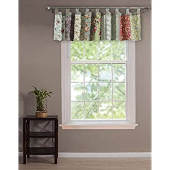 Amazoncom Greenland Home Blooming Prairie Window Valance Home