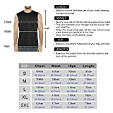 Sleeveless Shirt for Men, Cool Dry fit Athletic