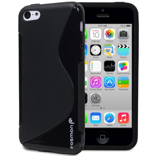 Fosmon DURA S-Series (TPU) Skin Protective Case Cover for Apple iPhone 5C