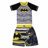 Best Batman Suits - Dreamweave Boys Rash Guard Set Batman Size 5 Review