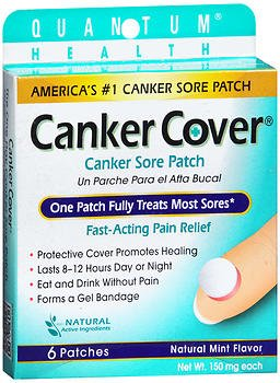 Dentek Canker Cover Patches - 6 ct, Pack of 3