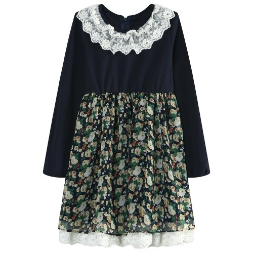 Richie House Big Girls' Fahion Dress for All Occasions RH1478-B-8/9