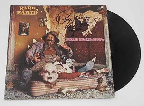 rare-earth-willie-remembers-peter-rivera-hoorelbeke-hand-signed-autographed-lp-record-album-with-vin
