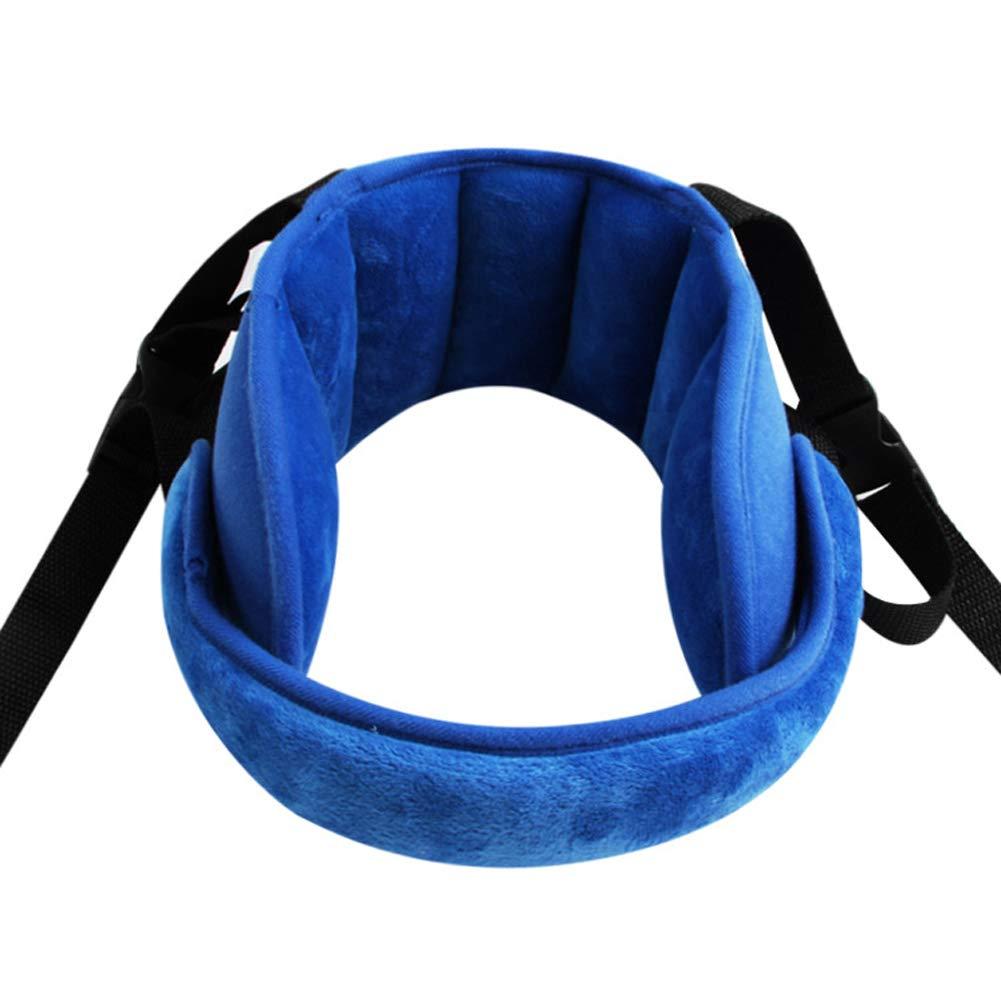 Support de tête et de cou pour siège de voiture pour bébé - Soulagement de la nuque et support de tête pour siège de voiture - Offre une protection. (Rose) Inchant