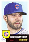 #8: 2018 Topps Living Set #30 Brandon Morrow Baseball Card Chicago Cubs - Only 5,585 made!