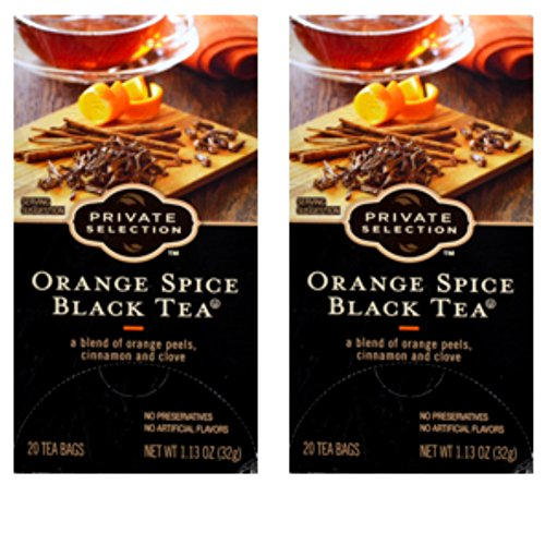 Private Selection Orange Spice Black Tea 20 ct (2 pack) ()