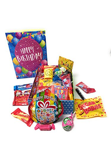 Happy Birthday Popup Boxes ~ Fun Treat Filled Decorated Gift Boxes (Large) (Treat Gifts)