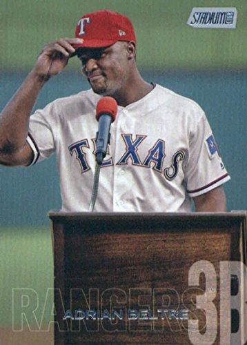 2018 Topps Stadium Club #234 Adrian Beltre Texas Rangers Baseball Card - GOTBASEBALLCARDS