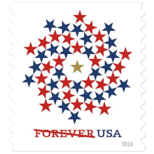Usa Patriotic Spiral Usps Forever First Class Postage Stamp U S  Liberty Sheets   20 Stamps   2 Strips Of 10 Stamps