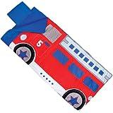 Wildkin Climb-In Fire Truck Sleeping Bag, One Size