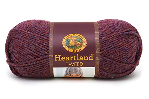 (Lion Brand Yarn 136-148 Heartland Yarn, Badlands)