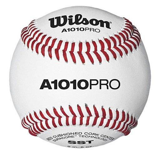 Wilson A1010BPROSST NFHS Baseballs (DZN)