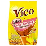 7 Pack Vico 3 in 1 Less Sweet Chocolate Malt Drink (7 x 15 sachets) Free Express Delivery