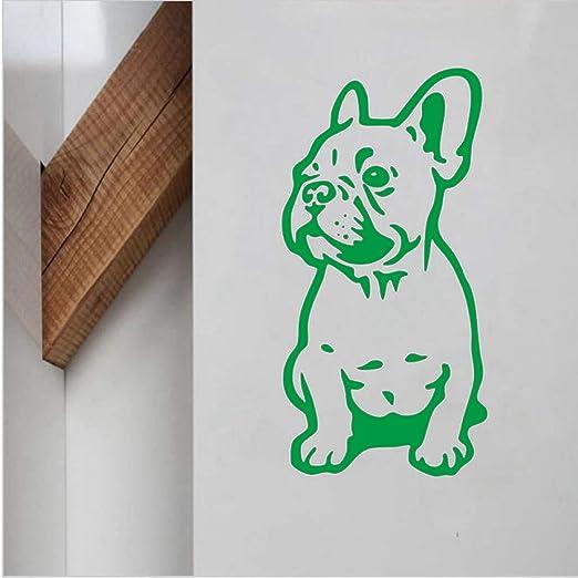 yiyiyaya Bulldog francés Etiqueta de la Pared de Vinilo Encantador ...