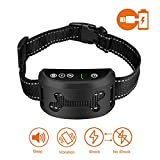 #10: SMARTWOOD Bark Collar [2018 Upgrade Chip] Dog No Bark Collars with Vibration And Harmless Shock(Can Be Switched Off)-USB Rechargeable Anti Barking Device for Small Medium and Large Dog