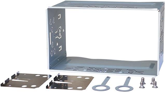 Atoto Kit de montaje universal con caja de seguridad metálica (sin marco) para autorradio de 2 Din: Amazon.es: Coche y moto